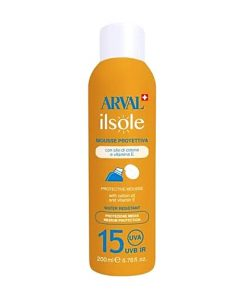 Arval Sole Mousse Corpo Spf15 W.R. 200