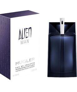 Mugler Alien Man Edt 100ml Vapo Refillable