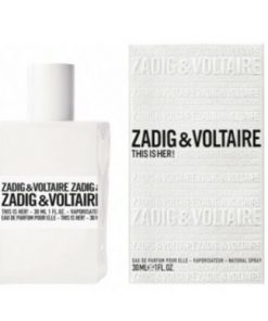 Zadig & Voltaire This Is Her Edp 30ml Vapo